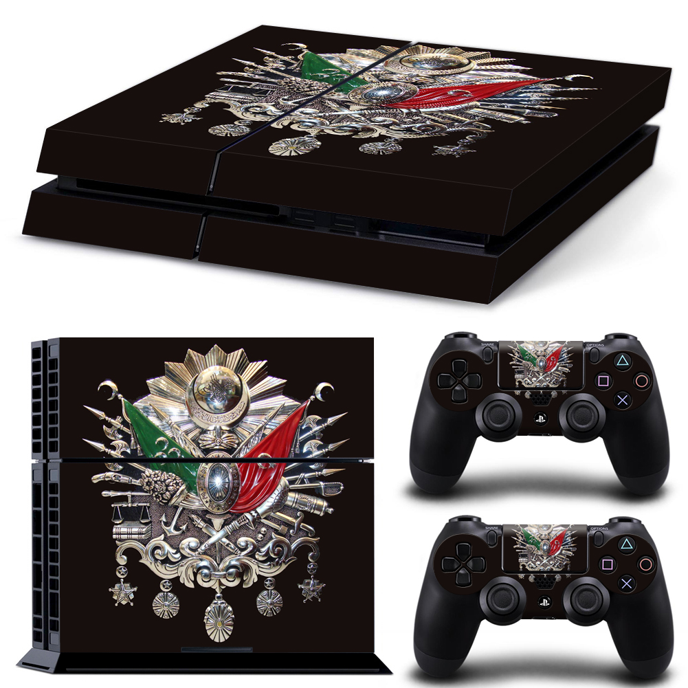 ps4 skin playstation 4 folie wappen sultan wappen 3 hilal
