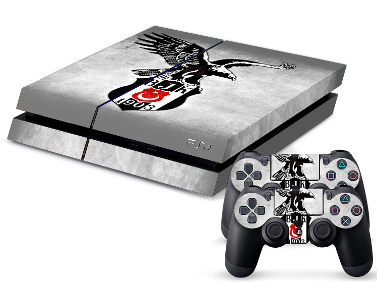 besiktas ps4 skin playstation 4 folie kara kartal carsi 1903